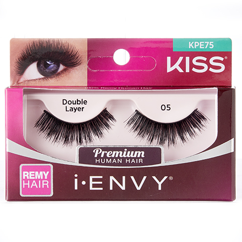KISS i-ENVY Premium Double Layer 05 Lashes (KPE75)