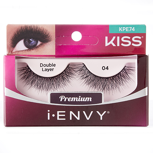 KISS i-ENVY Premium Double Layer 04 Lashes (KPE74)
