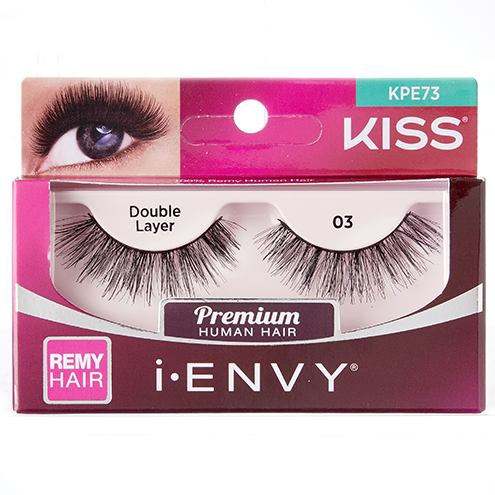 KISS i-ENVY Premium Double Layer 03 Lashes (KPE73)