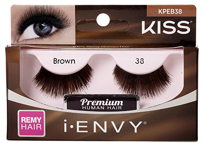z.KISS i-ENVY Premium Espresso Brown 38 Lashes (KPEB38)