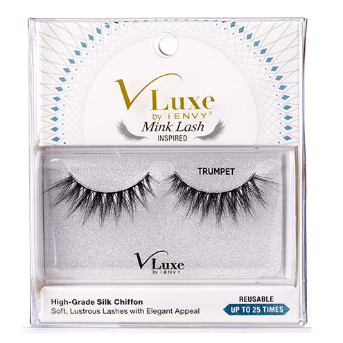 V-Luxe by KISS Silk Chiffon TRUMPET Eyelashes