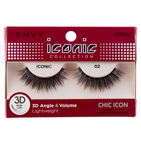 3037252710a KISS I-Envy Iconic Collection CHIC ICON 02 (KPEI02), i-ENVY Strip Lashes by  KISS - Madame Madeline Lashes