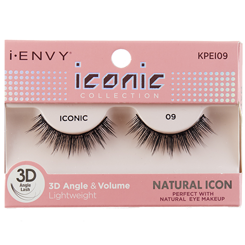 7d4da74de1c KISS I-Envy Iconic Collection NATURAL ICON 09 (KPEI09), Strip Eyelashes -  Madame Madeline Lashes