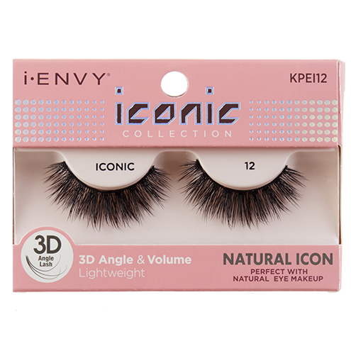 692db427632 KISS I-Envy Iconic Collection NATURAL ICON 12 (KPEI12), i-ENVY Strip Lashes  by KISS - Madame Madeline Lashes